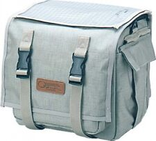 OSTRICH F-702 Bicycle Front Bag Beige 240x270x200mm 14.5L Japan with Tracking