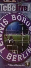 Programm 2005/06 Tennis Borussia Berlin - Motor Eberswalde