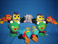 Meanies Plush Beanbag Toy Lot of 9 Series 1 Idea Factory   cc5