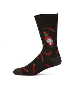 Bamboo fibre Chili Sauce.Hot chili socks.Spicy food lover socks.Nandos Socks.
