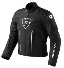Rev'it Shield Waterproof Motorcycle Textile Jacket - Black - SIZE LARGE - SALE