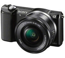 SONY Alpha 5000 Compact System Camera- 16-50 mm f/3.5-5.6 OSS Zoom Lens Sealed