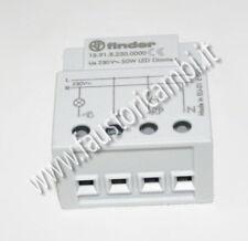 RELE' relè FINDER 15.91 PER LAMPADE A LED + VARIATORE 50 WATT 230V
