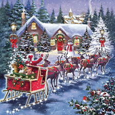 Square Jigsaw - Santa's Sleigh