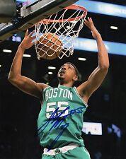 Jordan Mickey Boston Celtics Signed 8x10 Photo LOM COA jm2
