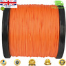 Super Dyneema 100-2000M  15-90LB Fishing Braid Carp Line Army Orange Spod Marker
