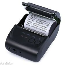 Mini 58mm Portable Android Bluetooth 2.0 Thermal Printer Receipt New EU PLUG