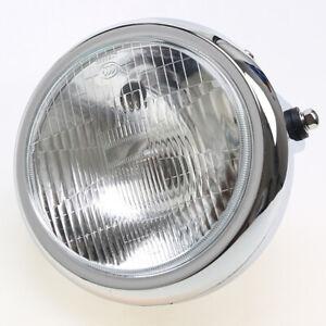 7.6'' Headlight Round Motorcycle Headlight Head Lamp For Honda Suzuki Yamaha
