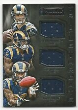 Todd Gurley 2015 Panini Playbook Triple Threats Cd.# TT-STL. # 188/199,Mason