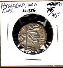 Hyderabad India Rupee AH 1286 XF