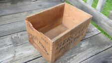 Hercules Powder Co.25 lb. Contractors Dynamite Dovetailed Wood Box Mining