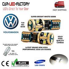 VW GOLF MK4 MK5 MK6 CANBUS SUPER BRIGHT LED SIDELIGHT BULB GOLD HIGH QUALITY