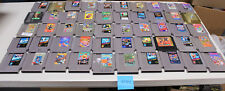 Lot of 50 Original Nintendo Nes Games Mega Man 1, 4, 6, Battletoads, Punch Out