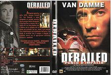DERAILED - PUNTO D'IMPATTO (2002) dvd ex noleggio