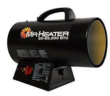 New Mr. Heater 50-85,000 Btu Portable Propane Forced Air Heater F271380 Mhq85Fav