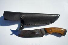 "Handmade Custom Hunting Knife Natural Wood Handle. ""Hunter"". Made in Ukraine!"
