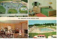 Rare Oversized Spring Lake NJ Motor Court Motel Giant Postcard New Jersey !