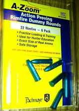 A-Zoom Precision 22 Rimfire ActionTraining Rounds, .22 LR , 12208 , 6 Pack  New!