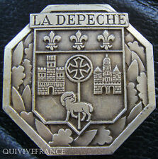MED2320 - MEDAILLE JOURNAL LA DEPECHE - TOULOUSE - FRENCH MEDAL