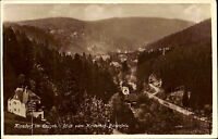Stempel und Postkarte KIPSDORF b/ Altenberg Dt. Reich AK 1927 Sachsen Erzgeb.