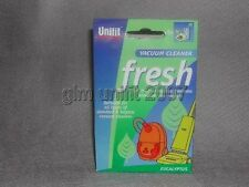UNIFIT 0175EU VACUUM FRESHENER X 5 SUITABLE FOR ALL TYPES OF VACS