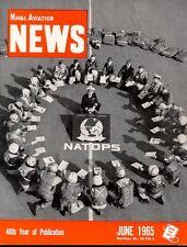 NAVAL AVIATION NEWS JUN 1965 VA-125 A-4 SKYHAWK MT SHASTA / PACIFIC VP P-3