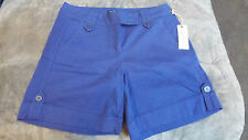 DW Sports Royal Blue Women's Short - Size 8 - NWTs