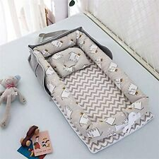 BIDI10 Newborn Baby Nest - Baby Lounger Portable, Foldable, Soft and Breathable,