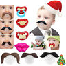 Funny Dummy Dummies Pacifier Novelty Teeth Moustache Baby Child Soother Nipples