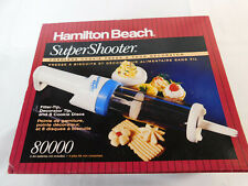 Hamilton Beach Super Shooter 80000 Cordless Cookie Press New