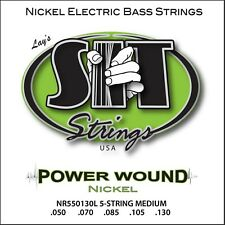 SIT Strings NR550130L 5-String Medium Power Wound Nickel Bass (50-130)