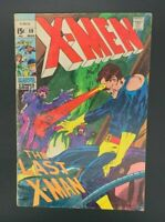 X-Men #59, VG- 3.5, Sentinels, Scarlet Witch, Cyclops; 1st Cameo Karl Lykos