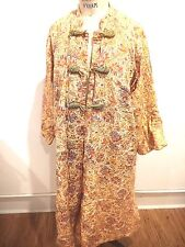 1920's Vintage Robe by Maxan Size Large Floral Print Rare!