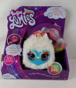 Pomsies Lumies - Rainbow Charged Interactive Pet - Sparkle Rush  🆕 See Pictures