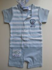 BABY BOY SOFT COTTON ROMPER PLAYSUIT SIZE 000 FITS 0-3M NEW