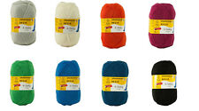 8 x 100 gr. Sockenwolle/Strumpfwolle Regia Trend Uni