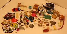 Vintage and Other Smalls Lot Junk Drawer Toys Charms