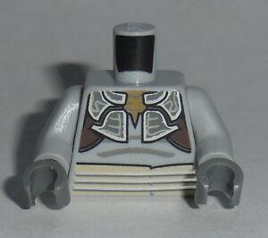 TORSO M056 Lego Male Lt. Bluish Grey Star Wars Armor w/ Silver Lines NEW Weequay