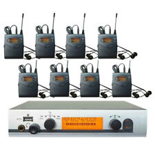 Professional In Ear Monitor System UHF Wireless Stage Monitor System 8 Receivers