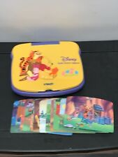 VTECH Disney Pooh's Picture Computer Laptop Interactive & 14 Cards Tested!!