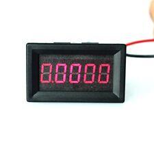 5 Digits 0-3.0000A DC Ammeter Digital Panel Meter Red LED Electric Current Gauge