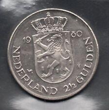 Nederland - 2 1/2 gulden - Juliana & Beatrix - 1980 -  2 scans