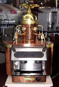 Beautiful Copper and Bronze Expobar Espresso Machine