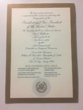 2005 Inauguration President George W. Bush Swearing in Ceremony Gold Ticket Pass