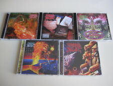 Morbid Angel 5CD Set Blessed Are Sick Covenant Domination Formulas Fatal Flesh..