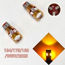 T10 W5W 168 194 2825 12961 Amber LED License Plate Light Canbus B1 For BMW U
