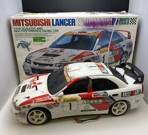 Tamiya Mitsubishi Lancer Evolution IV Monte Carlo 1/10th Scale R/C 4WD RC