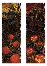 Large Halloween Scarecrow Lenticular Sign