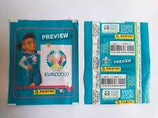 POCHETTE PANINI EURO 2020 PREVIEW  FRENCH VERSION VERTICAL TUTEN PACKET TUTO
