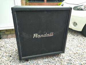 Randall RX412 4x12 200W Electric Guitar Speaker Cabinet